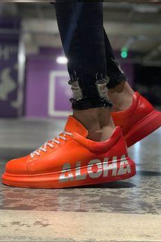 Chekich CH254 IT Men 'S Shoes 404 ALH ORANGE chekich ch254 bt 308 yellow navy men s sneakers