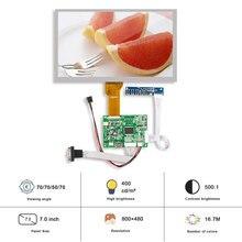 Original Innolux AT070TN94 7 Inch  Resolution 800×480 LCD Display Controller Board SRGB VGA Driver Board LCD TTL LVDS