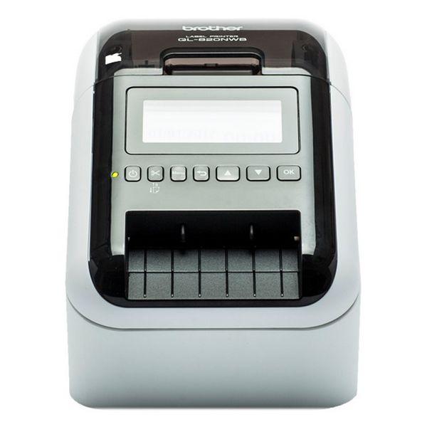 Thermal Printer Brother QL820NWBZX1 AirPrint 6 MB Macintosh/Windows