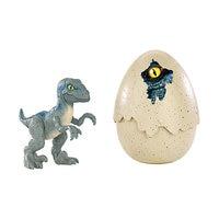 Dinosaurs eggs Jurassic World Velociraptor, Blue