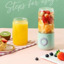 4/6 Blades 500ml Electric Juicer Cup Portable Smoothie Blender Mini Mixer Squeezer Juice USB Charging Vitamer Fruit Juicer
