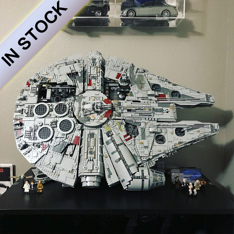 The Millennium Ultimate Collector's Destroyer 75192 7541PCS 10179 5265PCS Star Series Wars  Building Blocks Bricks 05132 05033