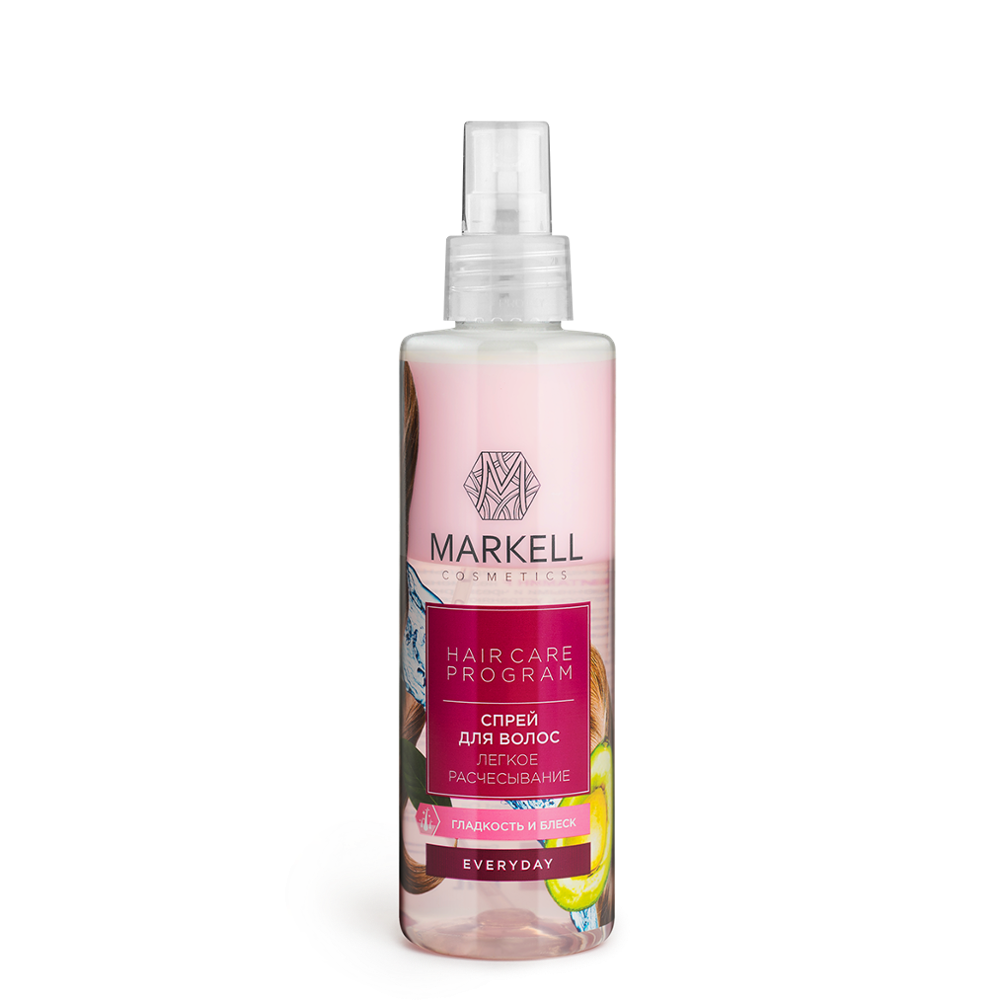 Markell Everyday Hair Spray Easy Combing, 200 Ml Hair Growth Essence Essential Oil Liquid Spray Nourish Roots Thick Shiny Prevent Hair Loss Anti-hair Hair Growth Spray Essential Oil Liquid For Men Women Dry Hair