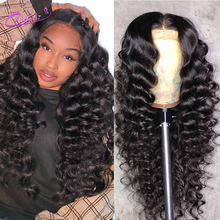 28 Inch Lace Front Wig 13x4 Loose Deep Wave Wig 5x5 Loose Deep Wave Closure Wig Brazilian 4x4 Closure Wig Pre Plucked Human Hair
