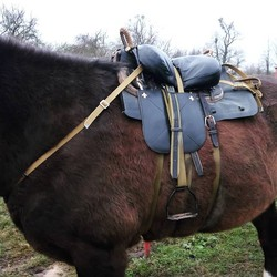Kosaken pferd sattel, Billiger, hirte sattel
