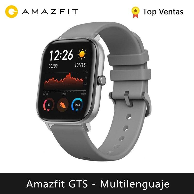 Amazfit GTS Smart Watch (Smart Watch Men GPS Swimming Waterproof Bluetooth Sport Outdoor Android IOS) [Global Version]