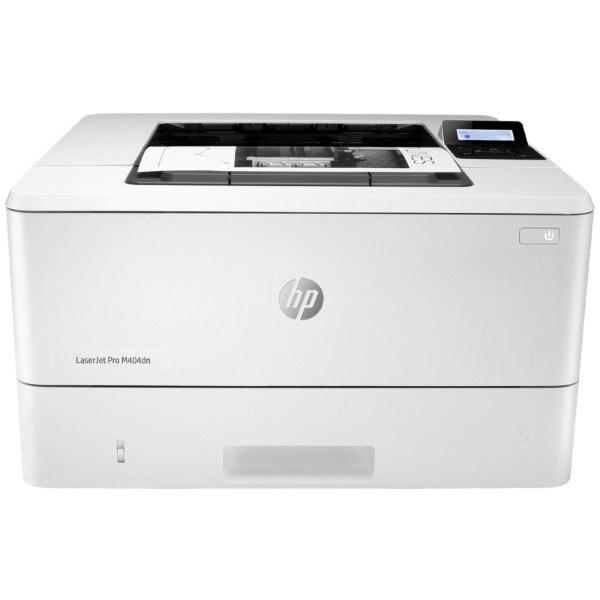 Bilgisayar ve Ofis'ten Yazıcılar'de Tek renkli lazer yazıcı HP LaserJet Pro M404dn 38 ppm 600 dpi LAN beyaz title=
