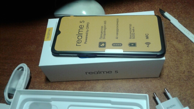 Smartphone realme 5 64 GB, Quadro camera, capacious battery 5000 mAh, NFC, the official Russian warranty|Cellphones|   - AliExpress