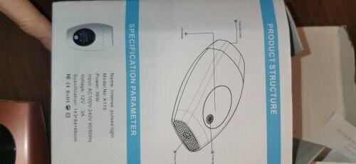 Permanent IPL Laser Depilator photo review