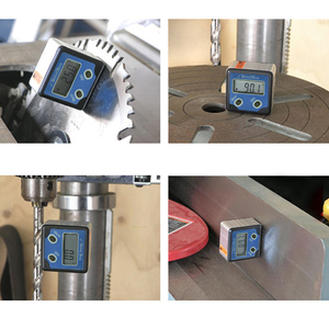 Image 3 - Inclinómetro de buscador de ángulos con 3 imanes de disco resistentes, caja de bisel Digital resistente al agua