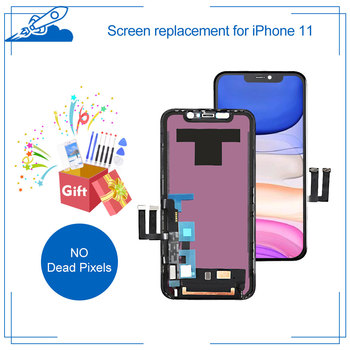 Grade AAA For iPhone 11 LCD Touch Screen Display Digitizer Assembly For iPhone11 Replacement No Dead Pixel With Free Gift New