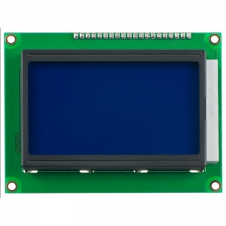 Lcd12864 128x64 Graphic Matrix Display Lcm For Arduino One Mega2560 R3 0 96 дюйма синий i2c iic серийный 128x64 oled lcd светодиодный дисплей модуль для arduino 51 msp420 stim32 юкжд