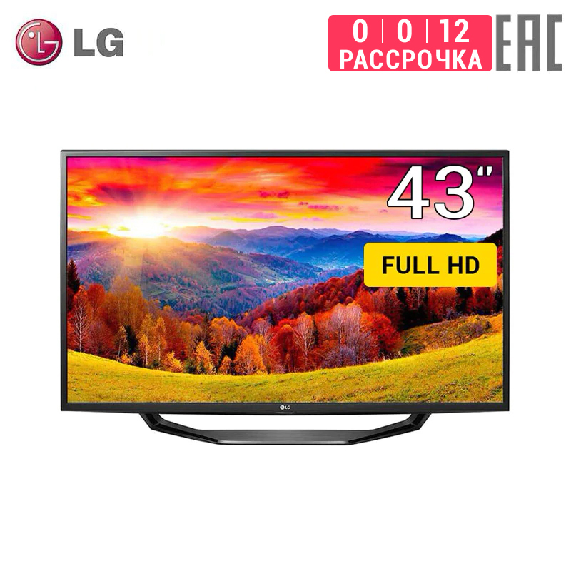 TV LED LG 43 43LH510V FullHD Smart TV 4049InchTv Tmatrix 0-0-12 Dvb Dvb-t Dvb-t2 Digital