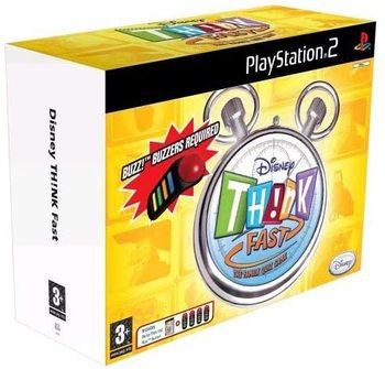 PS2 - Disney Think Fast Bundle