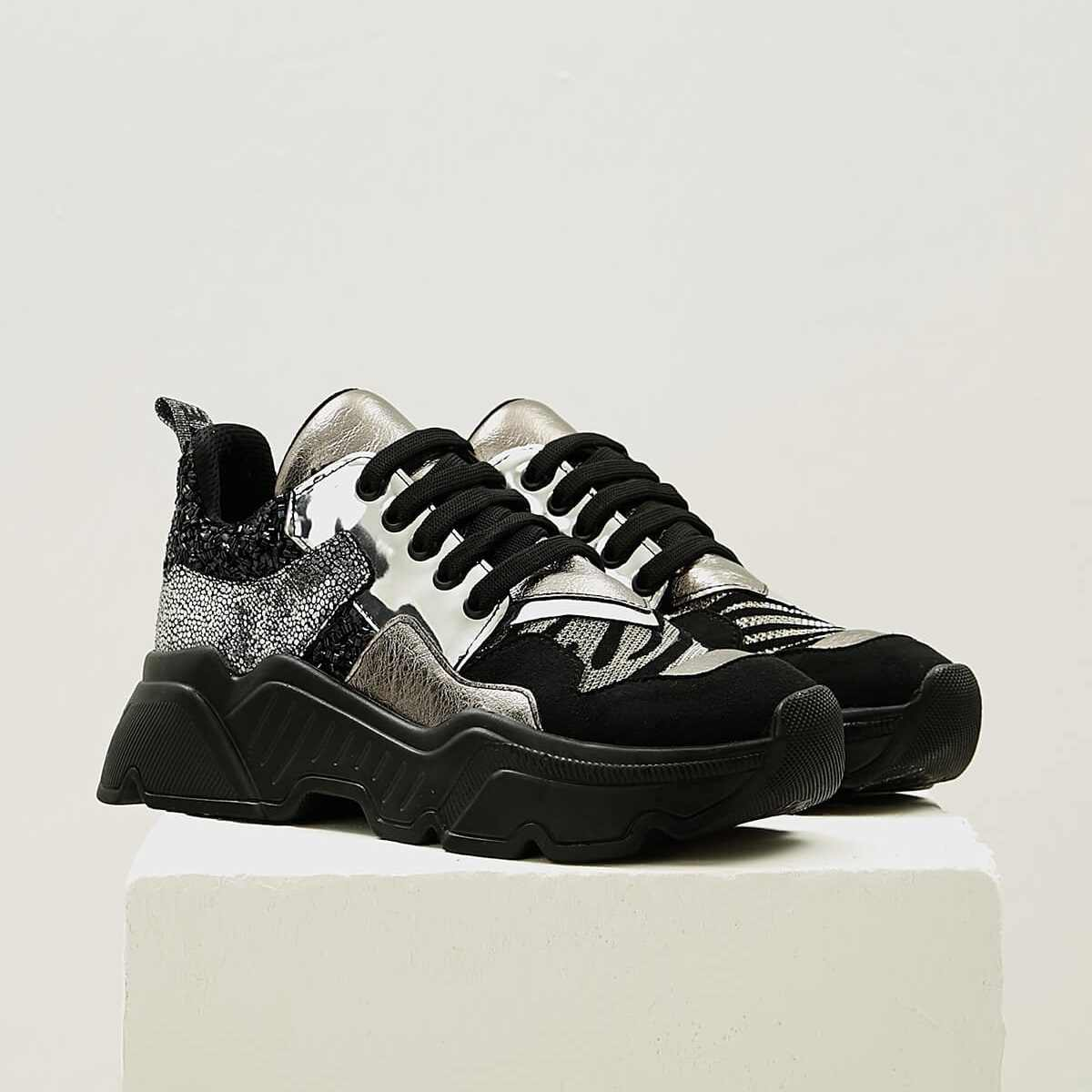 Mio Gusto Brand BENDIS, Top Selling High Quality, 5Cm Platform Height,  Women 's Comfort Sneaker Sporting Shoes