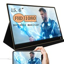 Portable Gaming monitor IPS Touch screen built in battery Ga