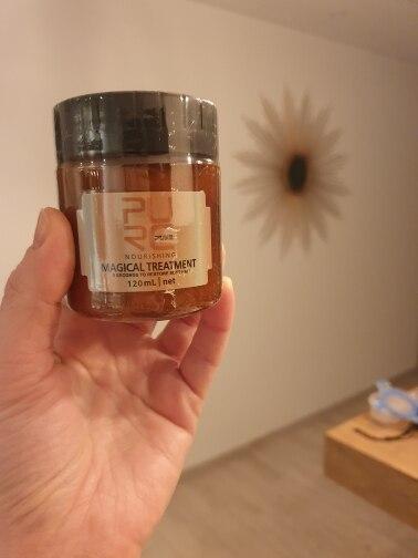 PURE 120/60ml Magical Hair Treatment Mask  - 5 Seconds Keratin Hair & Scalp Treatment photo review