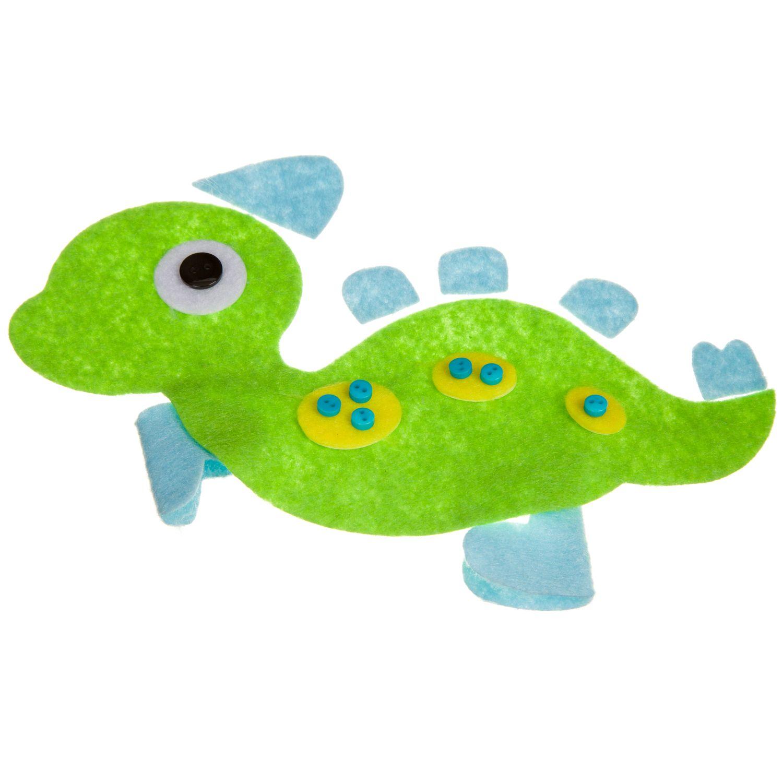"Set for creativity ""toy of felt. Dinosaur ""bondibon -3806"