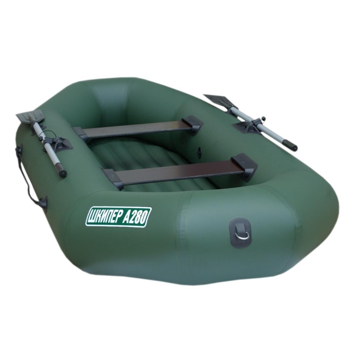 Boat Skipper А280 (inflatable Bottom) (Green)