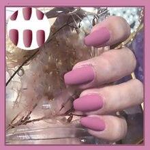 24PCS Natürliche Nude Falsche nägel Mode nail art werkzeuge Künstliche Voller Nagel stück Tragbare Abnehmbare Nagel verlängerung Falsche Nägel