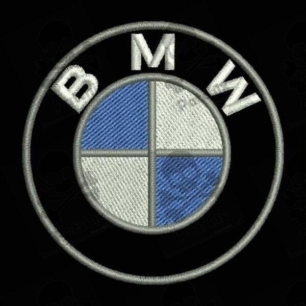 BMW LOGO PARCHE BORDADO, Iron Patch, Gestickter Patch, Patch Brode, Remendo Bordado, Toppa Ricamata