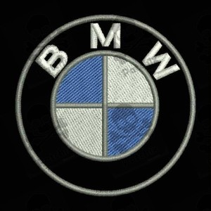 BMW LOGO PARCHE BORDADO, iron patch, gestickter patch, patch brode, remendo bordado, toppa ricamata