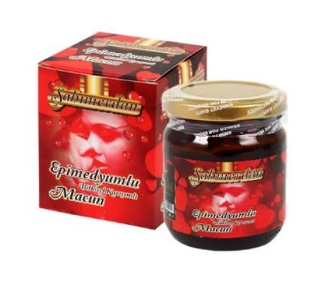Sahmerdan Natural Epimedium Herbal Paste Sexual Enhancer Aphrodisiac Erection Delay Ginseng Sexual Healt Horny Goat 240 G