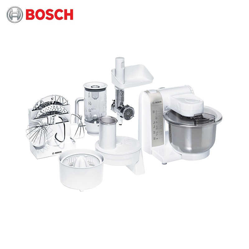 Food Processor Bosch Mum4856eu Kitchen Machine Planetary Mixer With Bowl Stand Household Appliances For Kitchen Aliexpress