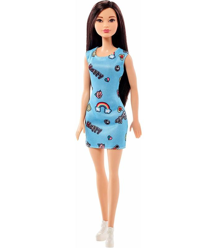 Barbie Doll Chic Dress Blue Toy Store Articles Created Handbook