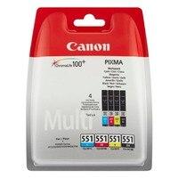기존 잉크 카트리지 Canon ChromaLife100 + (4 pcs)