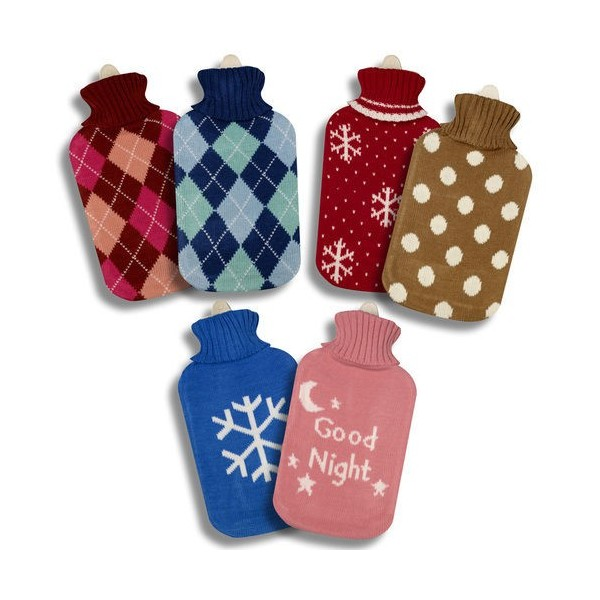 Hot Water Bag 2 Liters Dot Colors Assorted