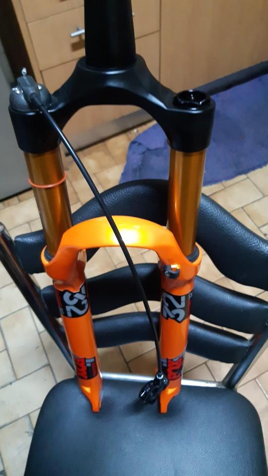-- Forquilha Bicicleta Tomada