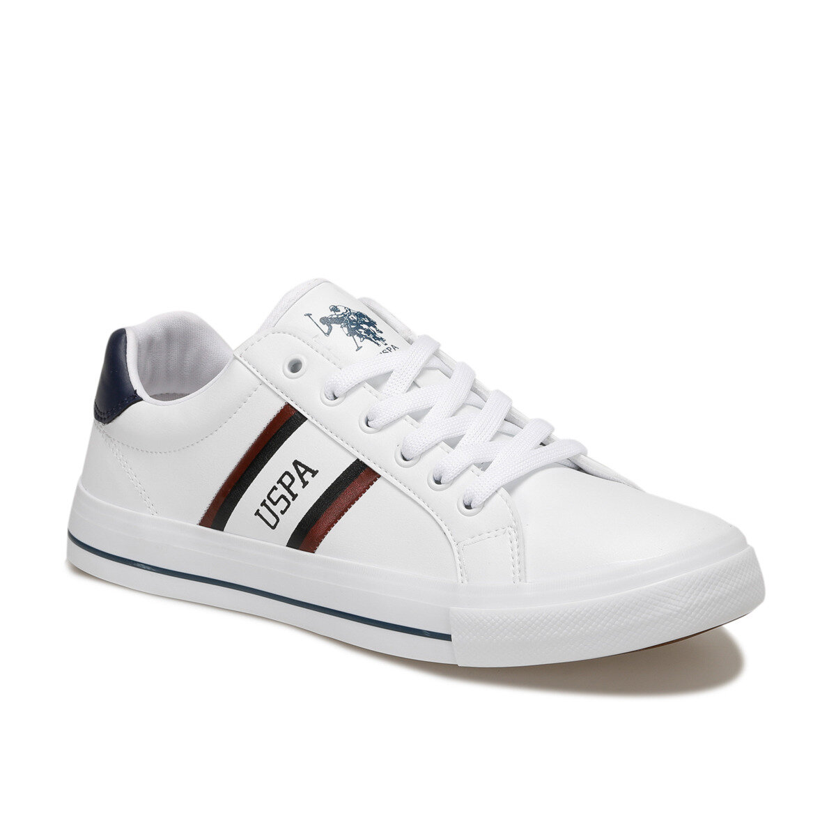 FLO PURE White Men 'S Sneaker U.S. POLO ASSN.