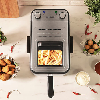 Deep-fat Fryer Cecotec CleanFry Infinity 3000 3 L 2400W Stainless steel