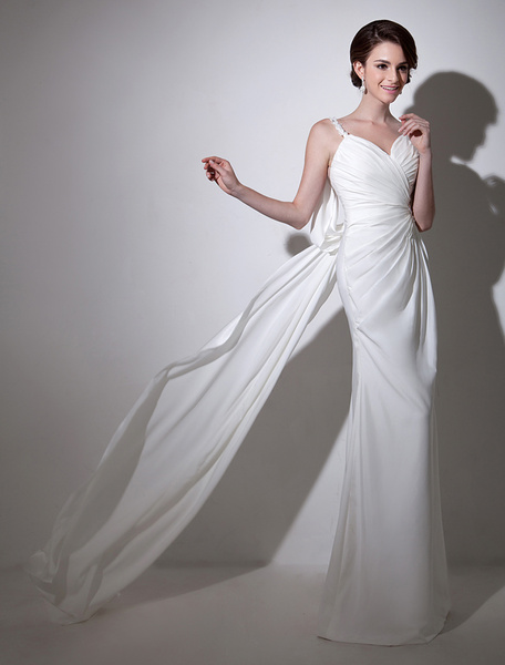 White Lace Great Bridal Wedding Dress