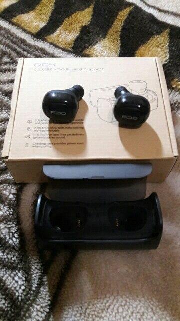 QCY Q29 business earbuds bluetooth earphones wireless 3d headphones with microphone handsfree calls noise cancelling|headphones with microphone|3d headphones|bluetooth earphone - AliExpress