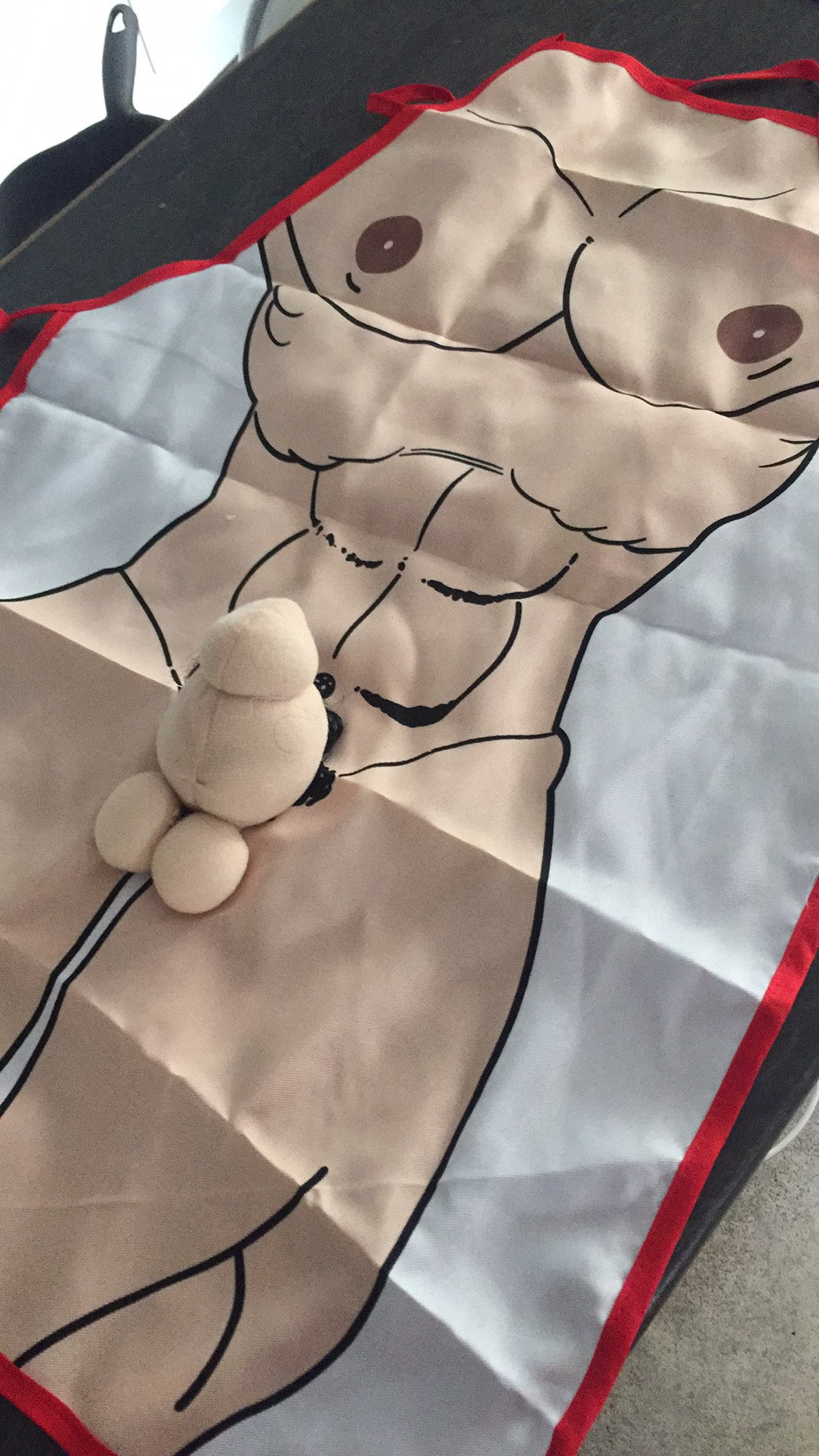 3D Sexy Kitchen Nudity Apron photo review