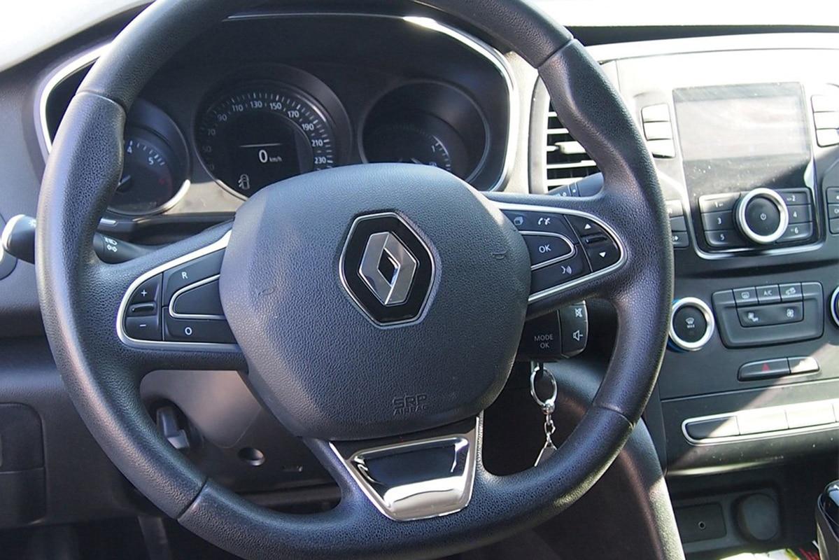 Renault Megane 4 Steering Chrome 1 Pieces Stainless Steel Matt (2016-)