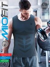 Podkoszulek sportowy siłownia bieganie koszulki kolarskie dla mężczyzn-odzież Fitness sportowa koszulka kompresyjna odzież sportowa męskie koszulki treningowe tanie tanio Miofit TR (pochodzenie) Pasuje prawda na wymiar weź swój normalny rozmiar Szybkie suche