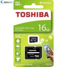 Toshiba – carte Micro sd SDHC UHS originale, 16 go 32 go 64 go, Android, pour l'expédition