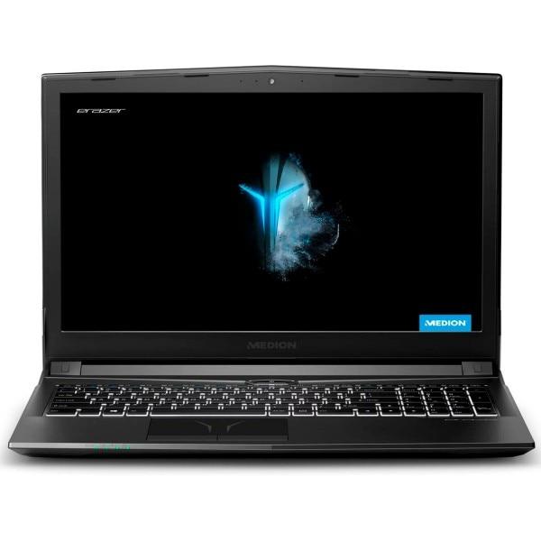 Medion Erazer P6605 Black Gaming Laptop 15.6 ''fullhd