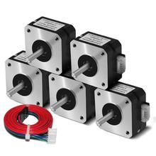 17HS4023 Nema17 für Titan Extruder 4 blei Nema 17 42 Motor 12V / 24V 3D Drucker Motor für 3D Drucker für Totem Gravur maschine
