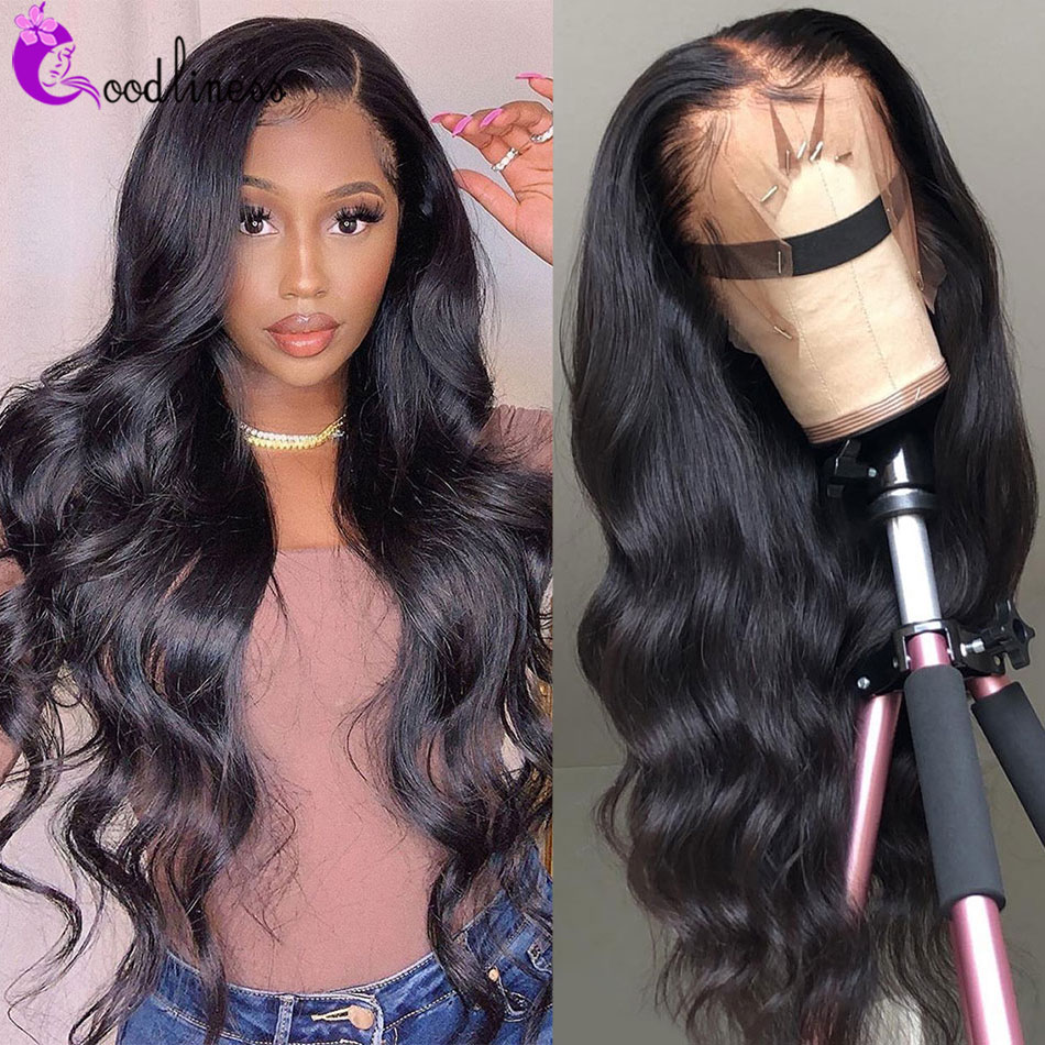 Vücut dalga dantel ön peruk 30 uzun saç postişi malezya 4x4 vücut dalga kapatma peruk 180% yoğunluk Remy 13x4 vücut dalga Frontal peruk