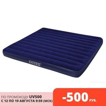 Intex bed inflatable classic downy (Fiber Tech) King, 1,83 m x 2,03 m x 25 cm