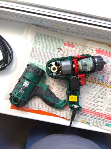 300W Power Tool Corded Drill/Screwdriver, 10mm Quick-Release Chuck photo review