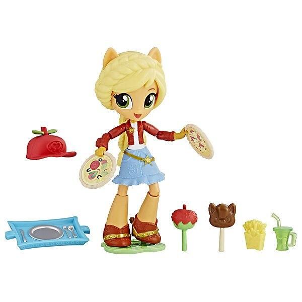 Mini Doll Equestria Girls Applejack With Accessories