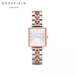 Наручные часы Rosefield QMWSSR-Q024 женские кварцевые на биколорном браслете