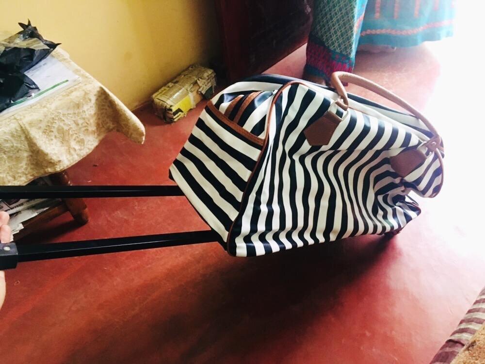 Large Capacity Maletas De Viaje Con Ruedas Envio Gratis  Suitcases Travel Luggage Set  Fashion Pu Waterproof Trolley Luggage