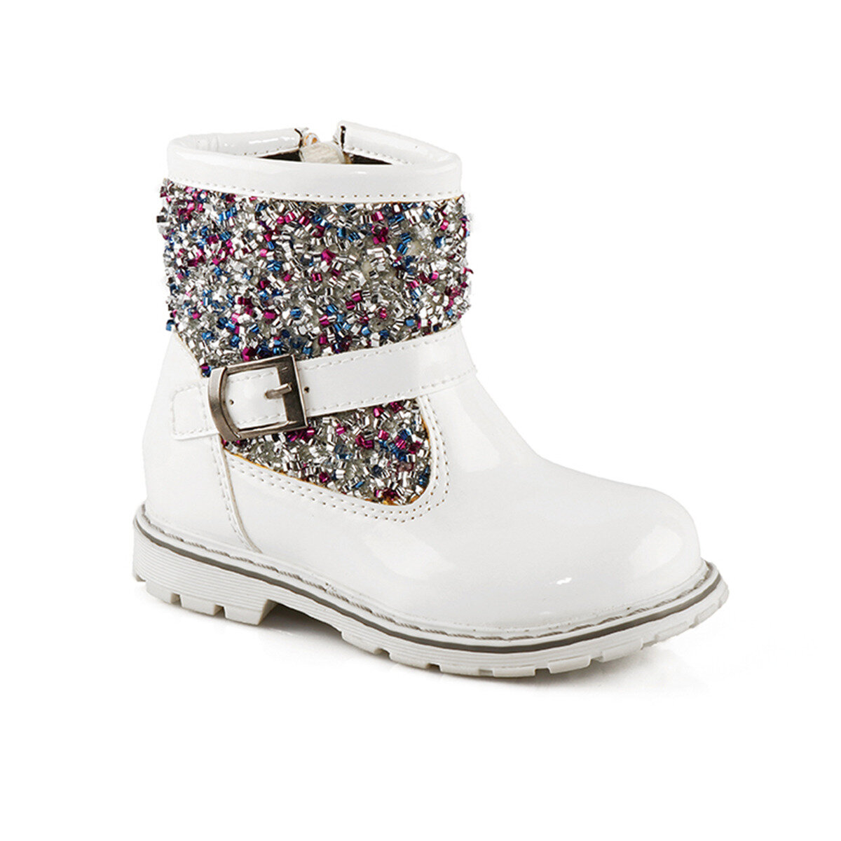 FLO 312. Y.292 BB White Female Child Boots VICCO