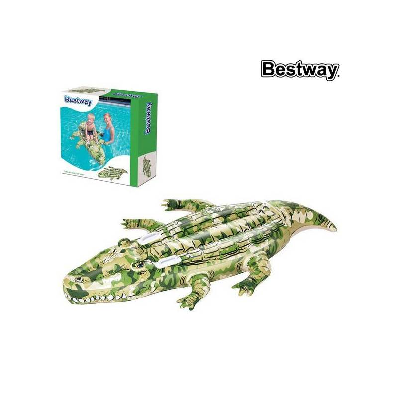 Inflatable Mattress Bestway 41090 (175x102 Cm) Crocodile